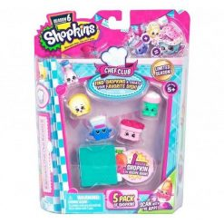 Shopkins S6 - 5 pack  by Proděti